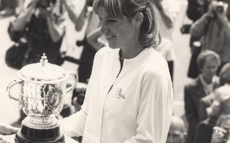 Suzanne Lenglen at Roland Garros